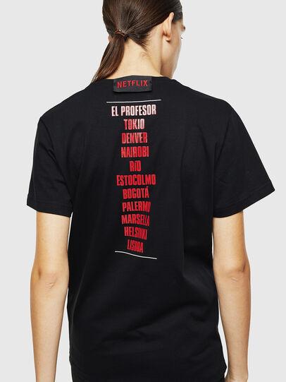 Diesel - LCP-T-DIEGO-CASA, Nero - T-Shirts - Image 4