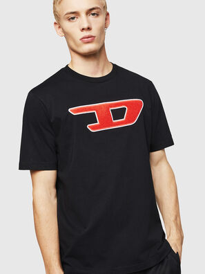 T-JUST-DIVISION-D, Nero - T-Shirts
