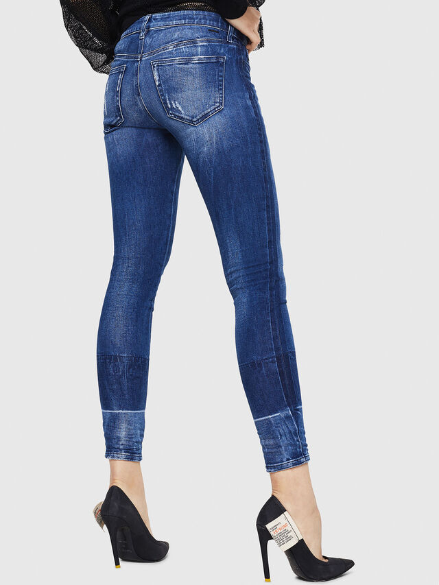 Diesel - Slandy 0090K, Blu medio - Jeans - Image 2