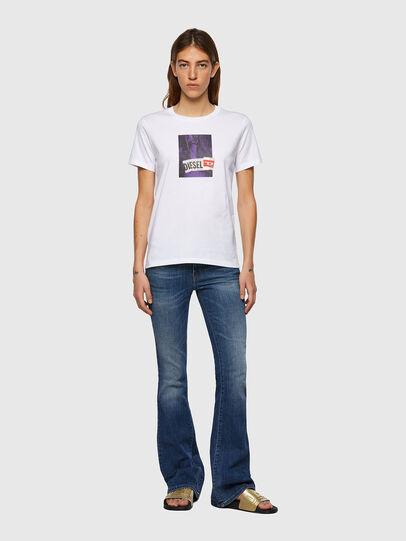Diesel - T-SILY-B3, Bianco - T-Shirts - Image 4