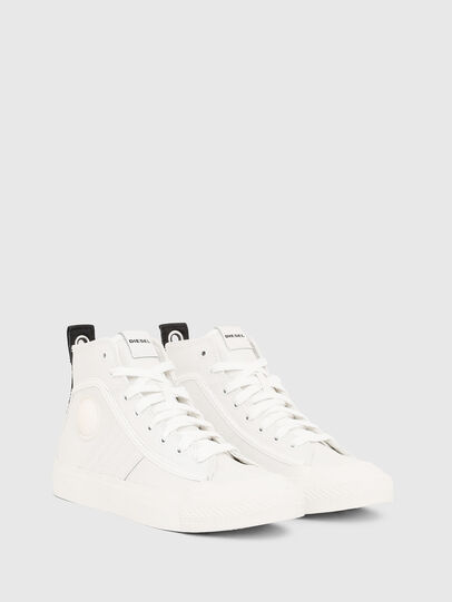 Diesel - S-ASTICO MID LACE W, Bianco - Sneakers - Image 2