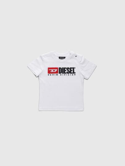 Diesel - TJUSTDIVISIONB, Bianco - T-shirts e Tops - Image 1