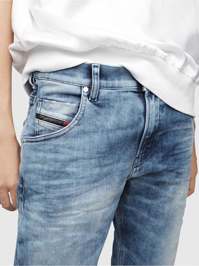 Diesel - Krailey JoggJeans 080AS, Blu medio - Jeans - Image 3