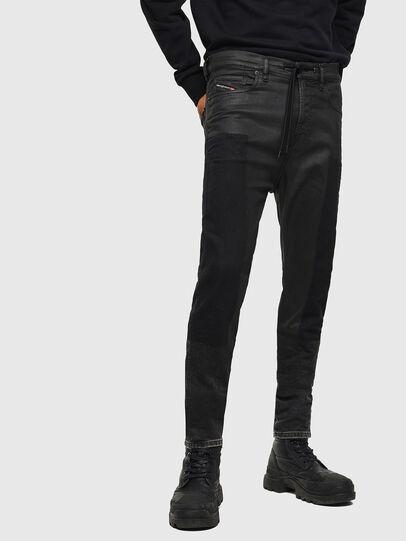 Diesel - D-Vider JoggJeans 0094P, Blu Scuro - Jeans - Image 1
