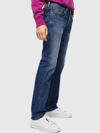 Diesel - Larkee 0096E, Blu medio - Jeans - Image 6