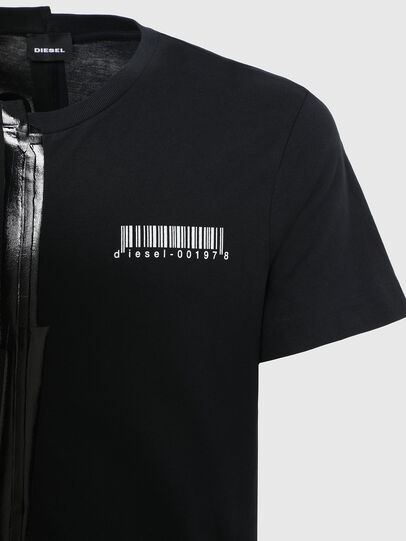 Diesel - T-JUBBY, Nero - T-Shirts - Image 4