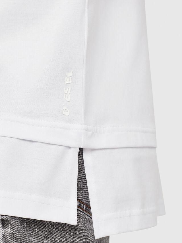 Diesel - T-YORI-Y1, Bianco - T-Shirts - Image 3
