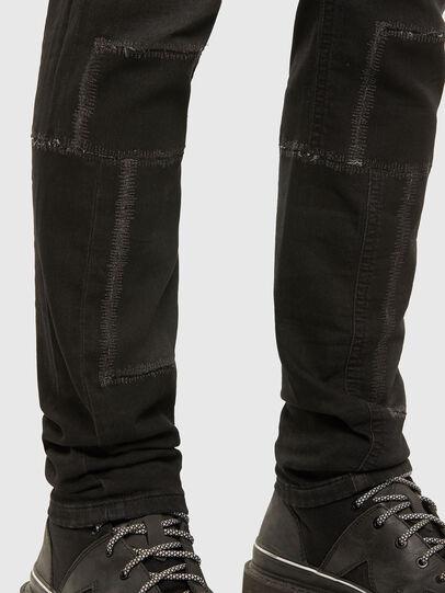 Diesel - Thommer JoggJeans 009IC, Nero/Grigio scuro - Jeans - Image 5