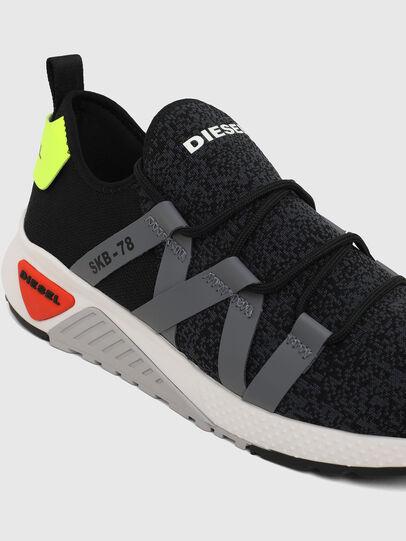 Diesel - S-KB WEB LACE, Nero/Blu - Sneakers - Image 4