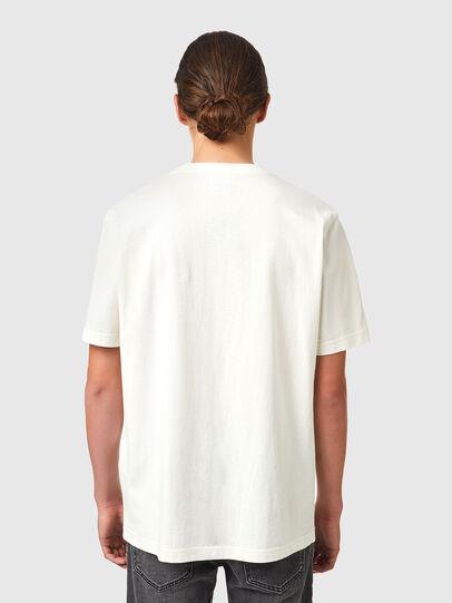 Diesel - T-JUST-B83, Bianco - T-Shirts - Image 2
