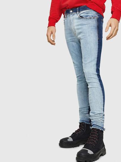Diesel - D-Istort 085AU, Blu medio - Jeans - Image 1