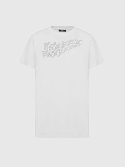 Diesel - T-DARIA-E5, Bianco - T-Shirts - Image 1