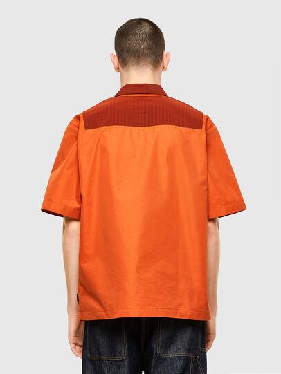 Diesel - S-GUNN, Arancione - Camicie - Image 2