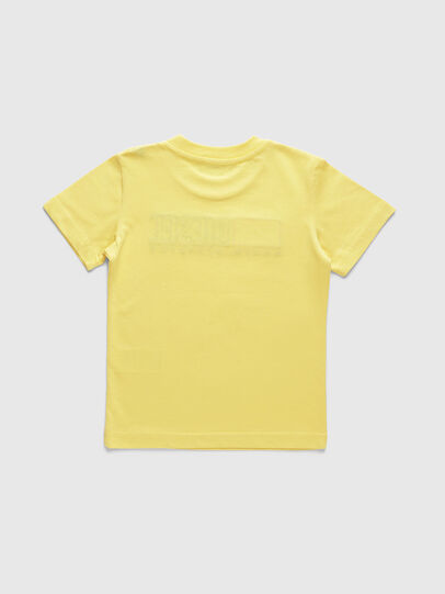 Diesel - TJUSTDIVISIONB-R, Giallo - T-shirts e Tops - Image 2