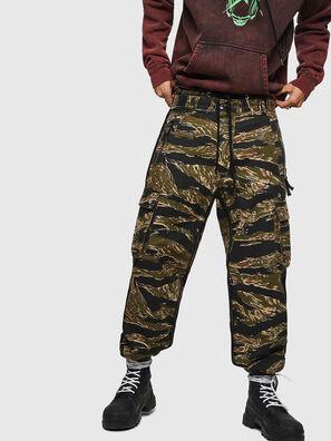P-LUZAVIC-TIGERCAM, Verde Militare - Pantaloni