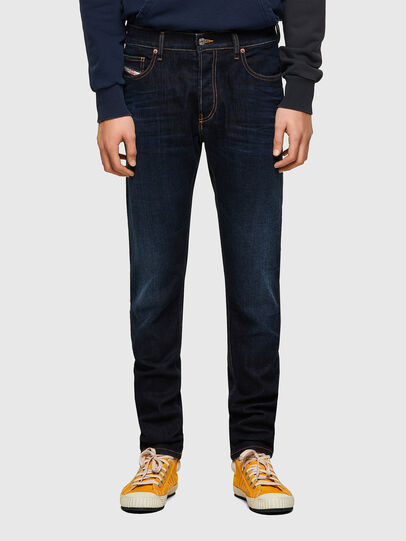 Diesel - D-Luster 009ZS, Blu Scuro - Jeans - Image 1