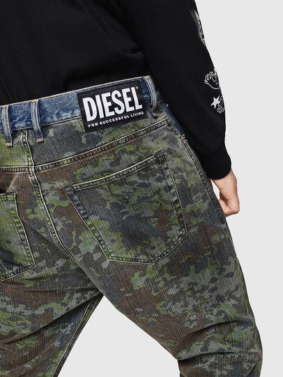 Diesel - D-Vider 0078E, Blu medio - Jeans - Image 7