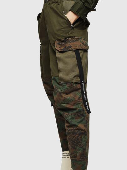 Diesel - P-THENA-A, Verde Camo - Pantaloni - Image 4