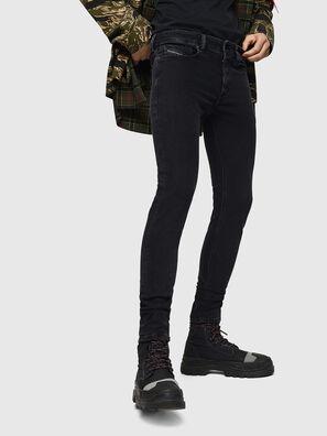 Sleenker 0870G, Nero/Grigio scuro - Jeans