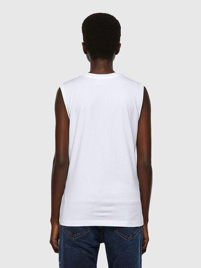 Diesel - T-SILESS, Bianco - T-Shirts - Image 2