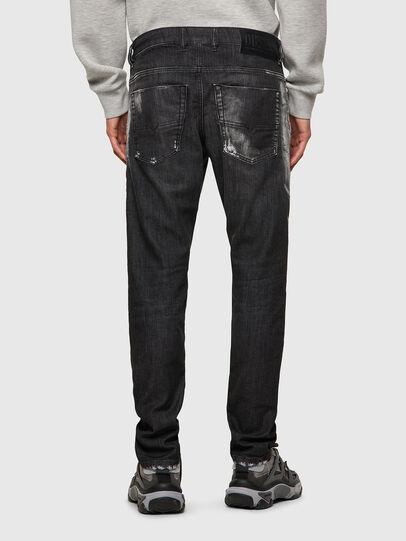 Diesel - Krooley JoggJeans® 09B53, Nero/Grigio scuro - Jeans - Image 2