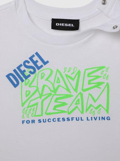 Diesel - TESSOB, Bianco - T-shirts e Tops - Image 3