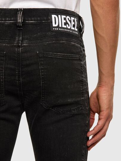 Diesel - D-REEFT JoggJeans® 009FY, Nero/Grigio scuro - Jeans - Image 5