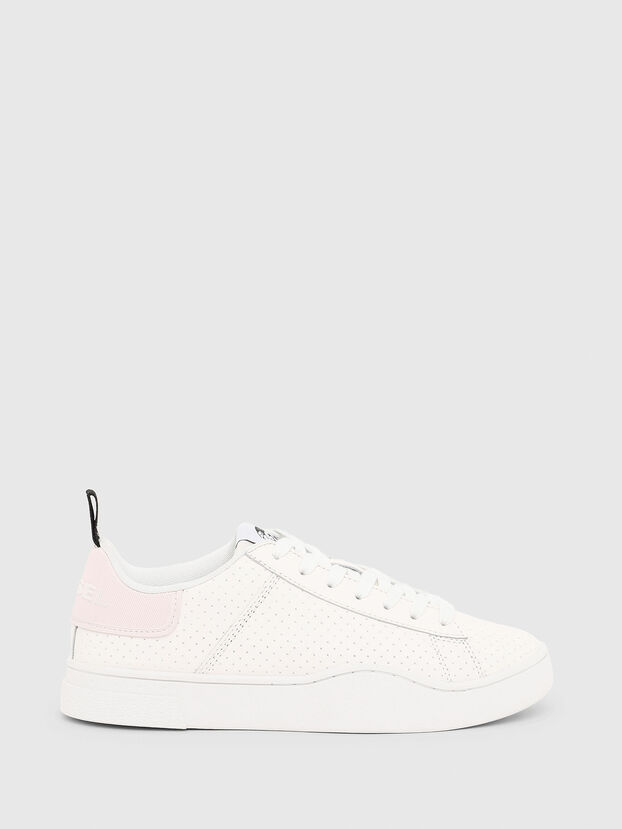 S-CLEVER LOW LACE W, Bianco/Rosa - Sneakers
