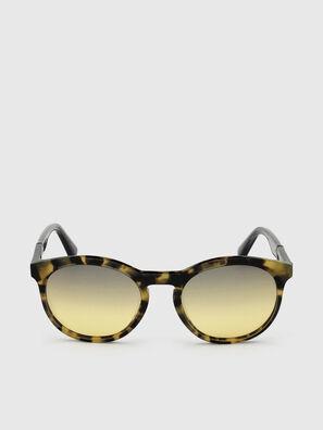 DL0310, Nero/Giallo - Occhiali da sole