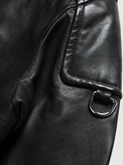 Diesel - US-L-CODY, Nero - Giacche di pelle - Image 6