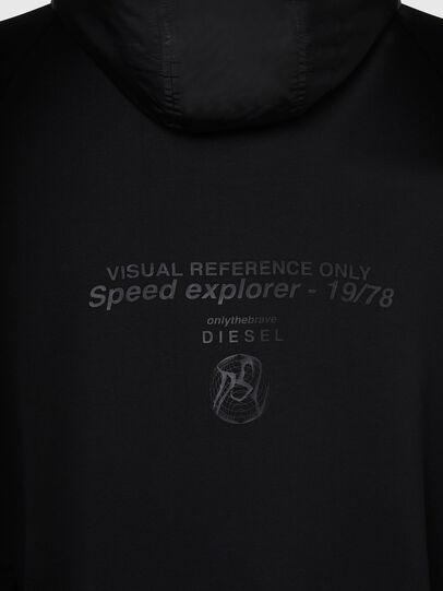 Diesel - S-RUNNER, Nero - Felpe - Image 4