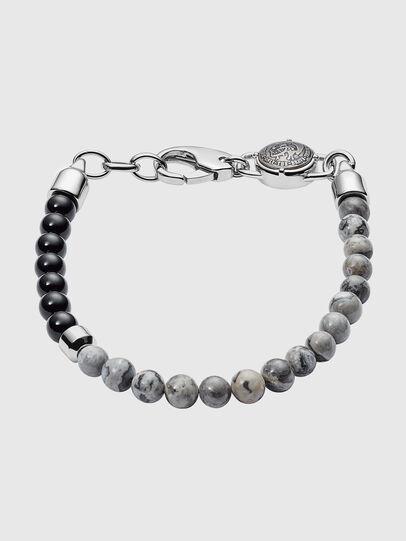 promo code 399a7 6d493 Braccialetto con perle semipreziose effetto cemento in due tonalità