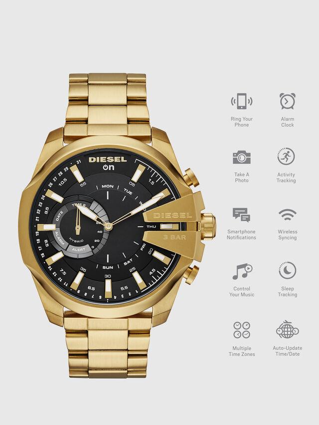 Diesel - DT1013, Oro - Smartwatches - Image 1