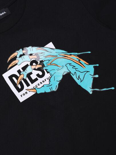 Diesel - TJUSTMCA1, Nero - T-shirts e Tops - Image 3