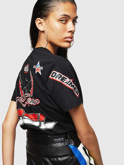 Diesel - ASTARS-T-DIEGO-FL, Nero - T-Shirts - Image 5