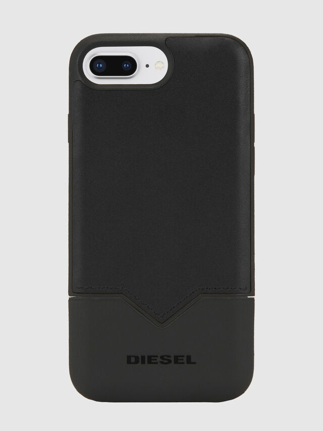 Diesel - CREDIT CARD IPHONE 8 PLUS/7 PLUS/6S PLUS/6 PLUS CASE, Nero - Cover - Image 1