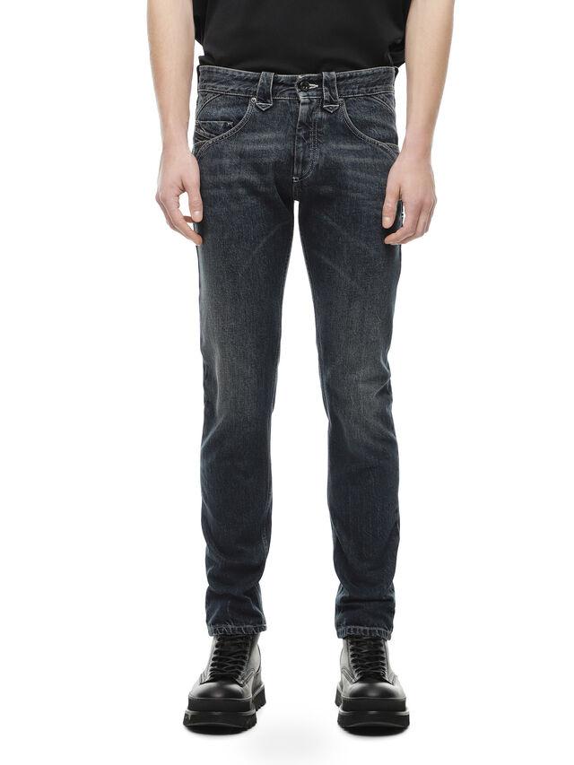 Diesel - TYPE-2905, Blu Scuro - Jeans - Image 1
