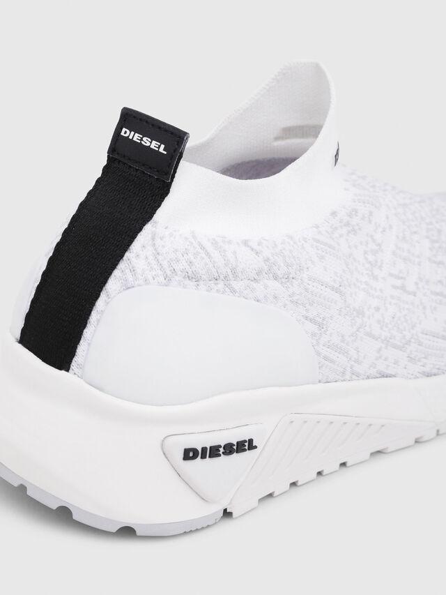 Diesel - S-KB ATHL SOCK, Bianco - Sneakers - Image 4