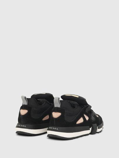 Diesel - H-PADOLA SL W, Nero/Giallo - Sneakers - Image 3