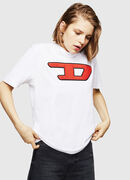 T-JUST-DIVISION-D-FL, Bianco - T-Shirts