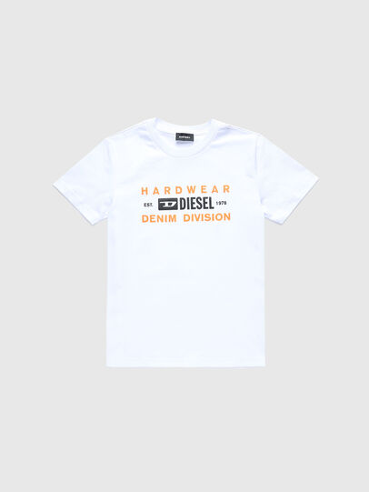 Diesel - TDIEGOSK32, Bianco - T-shirts e Tops - Image 1