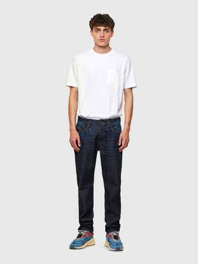 Diesel - D-Fining 09A20, Blu Scuro - Jeans - Image 5