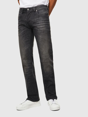 Larkee C82AT, Nero/Grigio scuro - Jeans