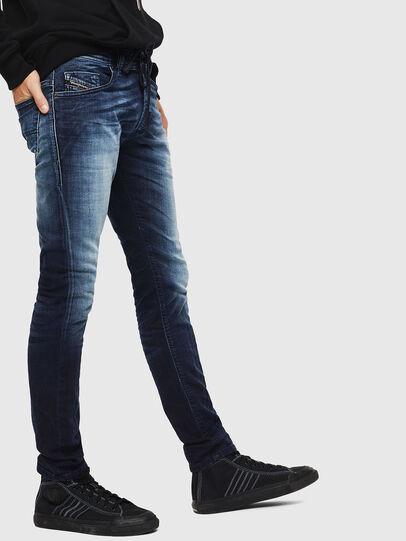 Diesel - Thommer JoggJeans 069IE, Blu Scuro - Jeans - Image 5