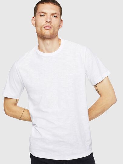 Diesel - T-TARRIS, Bianco - T-Shirts - Image 1