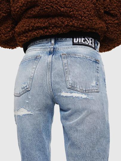 Diesel - Aryel 0078L, Blu Chiaro - Jeans - Image 6