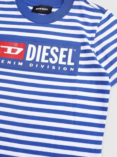 Diesel - TVIKB-R, Blu/Bianco - T-shirts e Tops - Image 3