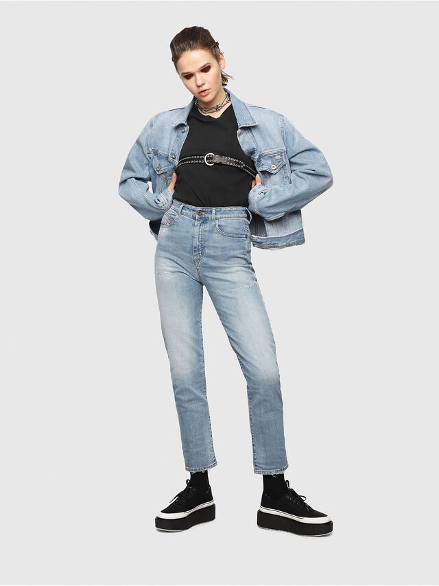 Diesel - D-Eiselle 069DY, Blu Chiaro - Jeans - Image 4