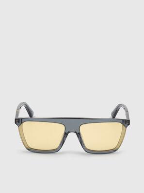 DL0323, Nero/Giallo - Occhiali da sole