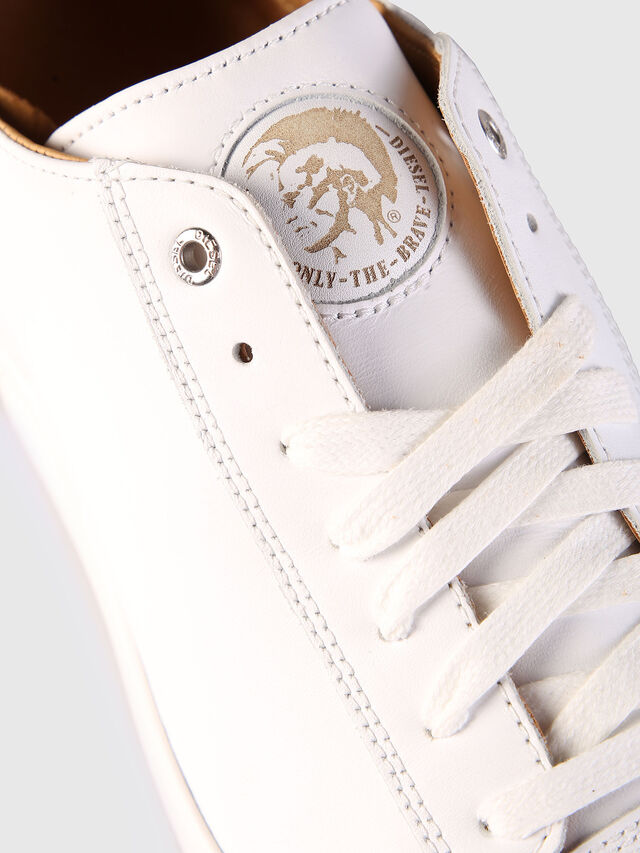 Diesel - S-NENTISH LOW, Bianco - Sneakers - Image 6